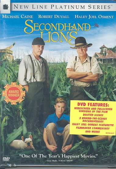 SECONDHAND LIONS BY OSMENT,HALEY JOEL (DVD)