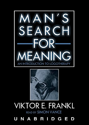 [CD] Man's Search For Meaning By Frankl, Viktor E./ Vance, Simon (NRT)